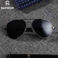 BAVIRON Teardrop נהיגה אלומיניום גברים משקפי שמש מקוטבות זכר משקפיים טייסים קלאסיים למעלה Eyewear UV400 Gafas 8026