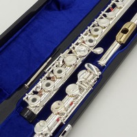 Japan Professional Flute 212 Silver Plated Flute Instrument Flutes Gold Plated Lip Plate 17 Holes Open Closed E Mechanism