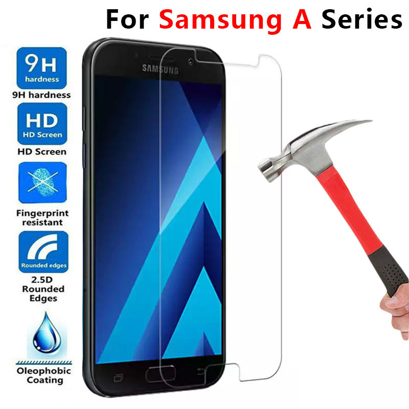 Protective Glass For Samsung A5 2017 A7 A3 2016 Tempered Glas Screen Protector On The Galaxy A 3 5 7 3a 5a 7a A52017 A52016 Film