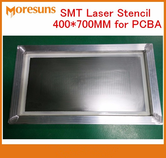 Быстрая доставка DHL/EMS 400*700 мм светодиодный лазерный трафарет для печатной платы для PCBA доска собрать трафарет из нержавеющей стали smt PCBA