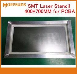 Envío rápido por DHL/EMS 400*700MM plantilla a láser LED plantilla PCB para tablero de PCBA ensamblaje plantillas de acero inoxidable smt pcba
