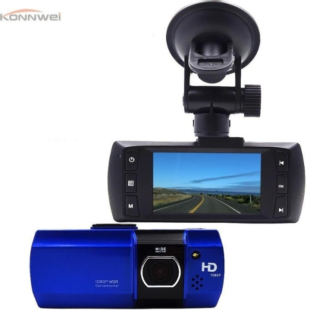Car DVR Camera Vehicle Video Recorder  Full HD 1080P video resolution 170 degree wide-angle recording  Lens Super Night Vision
