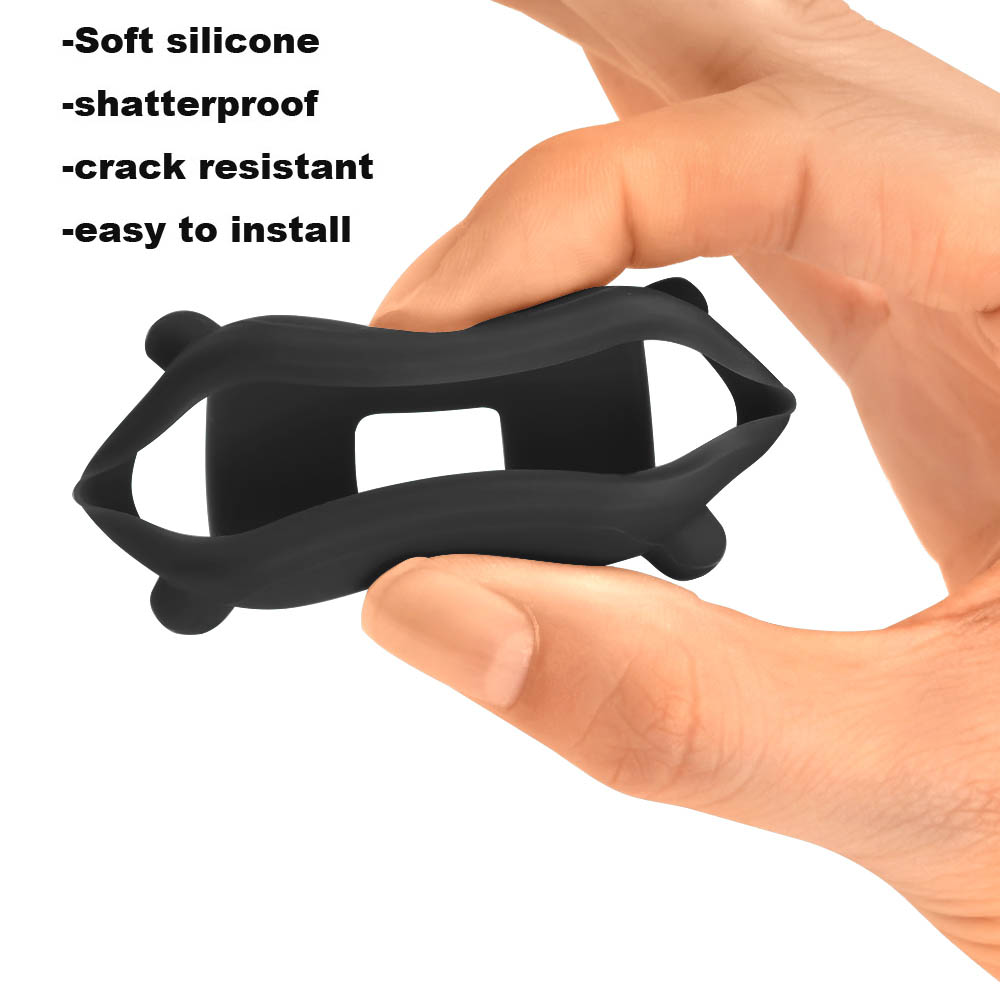 For Xiaomi Amazfit Bip Bracelet Strap Leather Watchband Protector Case Screen Film 7Pcs