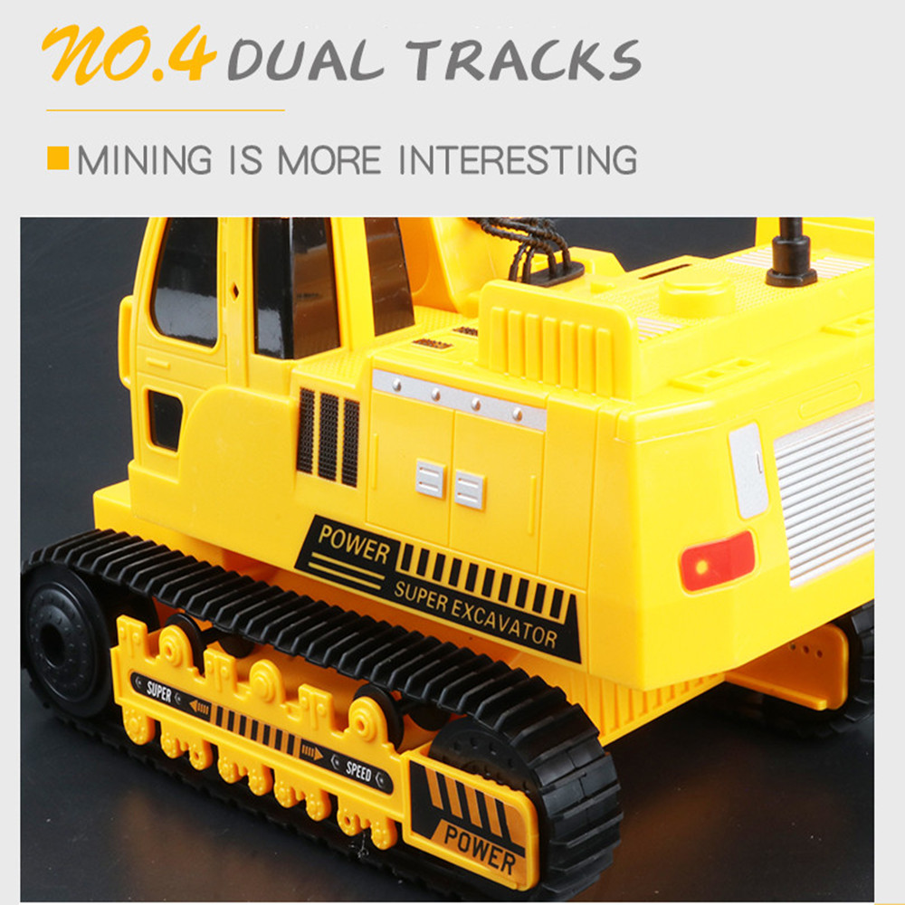 Image 5 - 2.4GHz 12CH 1:18 RC Car Drift Alloy Excavator  Kids Adults Remote Control Toy Car-in RC Cars from Toys & Hobbies