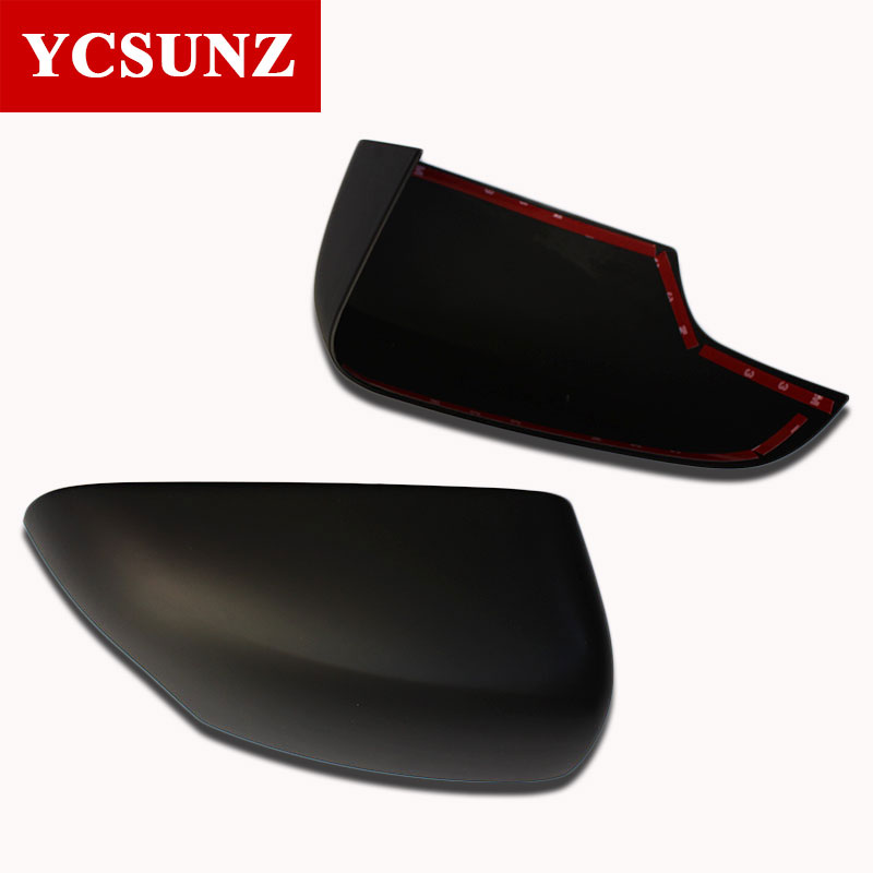 ABS Black Mirror Covers For Ford Ranger Wildtrak T6 T7 T8 2012 2019 Double Cabin Everest Endeavour 2016 2019