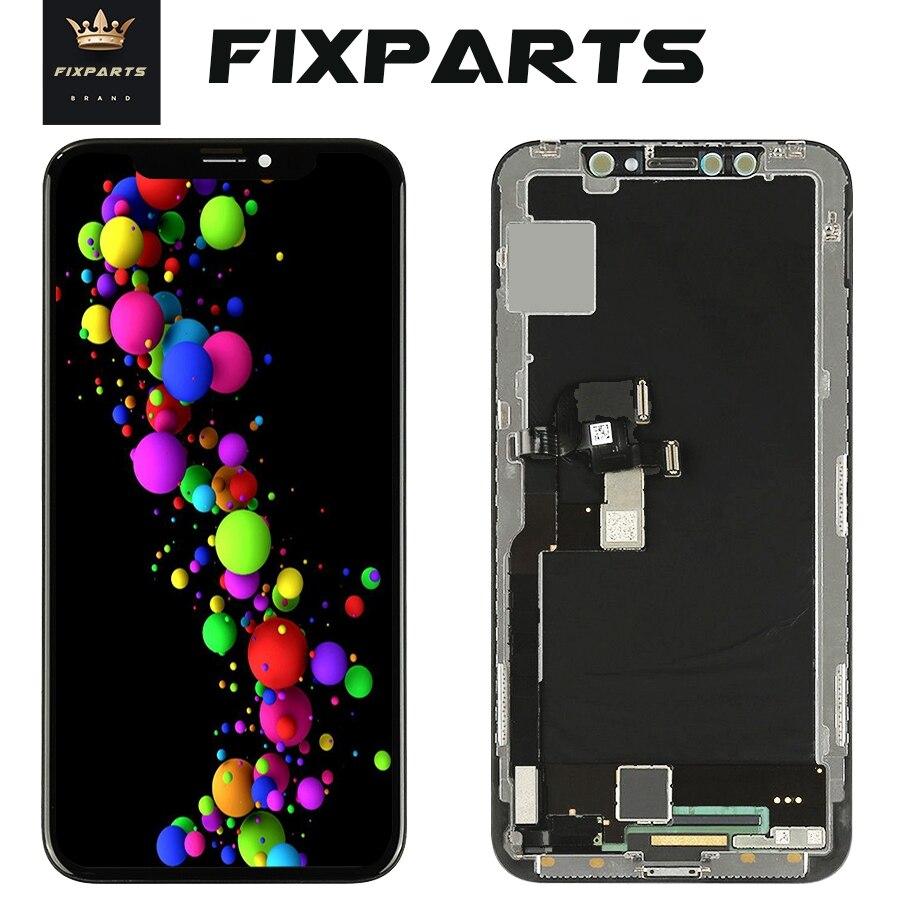 2018 hohe Qualität Keine Tote Pixel LCD Display Für iPhone X LCD Touch Screen Ersatz Teile für iPhone Zehn 10 LCD + 9 in1 Werkzeuge