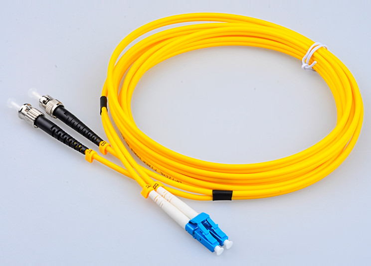8 Meter LC-ST Fiber Optic Cable SingleMode Duplex Patch Cord 9/125 8M