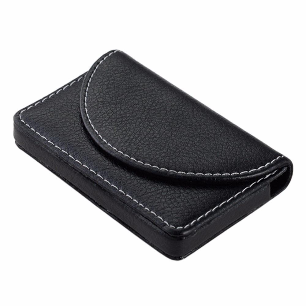 Online Shop Wallets Leather Card Holder Mens Card Holder Make Up ...