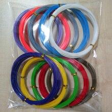 Hot sales 22colors x 10 meters total 220m 3D Filament PLA 1.75mm 3D Printer Filament Materials For 3D Printing