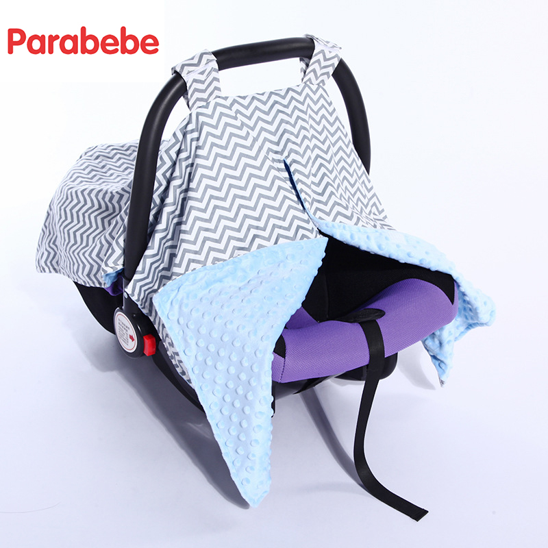 buy baby car seat accessories canopy cover thick basket cover for winter cotton. Black Bedroom Furniture Sets. Home Design Ideas