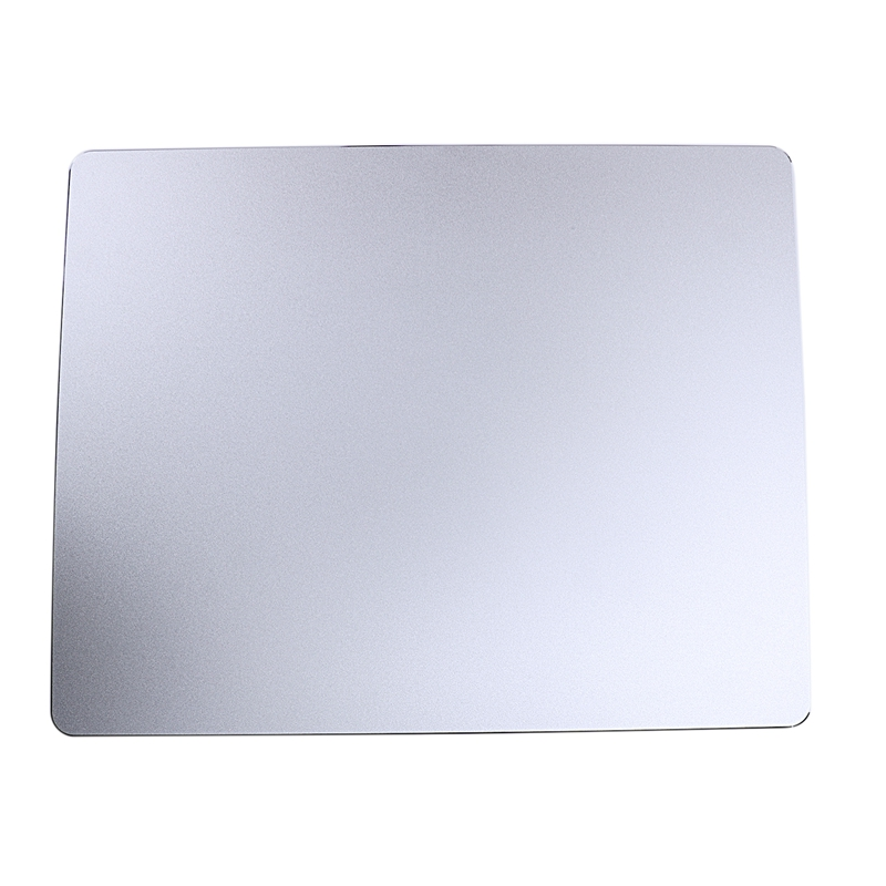 300x240Mm Frosted Matte Slim Aluminum Mouse Pad Pc Computer Skid Laptop Gaming Mousepad For Apple For Mackbook(China)