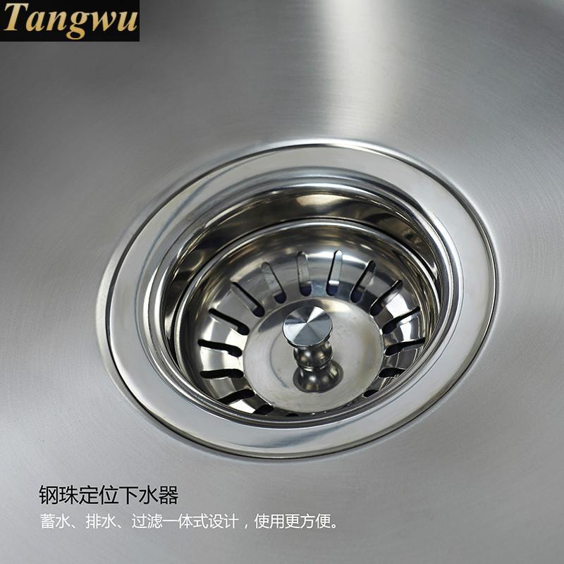 Kitchen Sinks Free Shipping Stainless Steel Sink Small Package Under Thick Groove Drawing The Vegetable Washing Kitchen Sinks 46 Stainless Steel Sink Kitchen Sinkthe Kitchen Sink Aliexpress