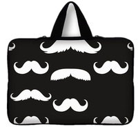 Fashion 15 15.4 15.6 Smile Print Laptop Sleeve Carry Bag Cases Cover Pouch Protector For Macbook Air Pro 15.4