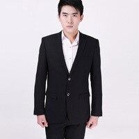 Groothandel kleding mannen pak eigendom werk hotel trouwjurk met meststof XL
