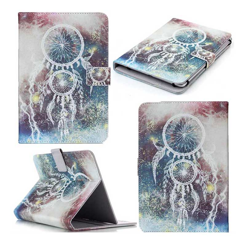 Universal Case 10 inch Wallet PU Leather Cover For Samsung Galaxy Tab 4 10.1 T530 T531 T535 10.1 inch bags+flim+pen KFD553