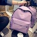2016 mujeres hombres mochila informal a la moda School Girl Shoulder Bag mochila bolsas de viaje 634-17