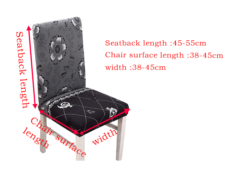 Chair Covers For Purchase Outdoor Metal Dining Chairs Aliexpress Com Buy Modern Removable Cover Spandex Elastic 49