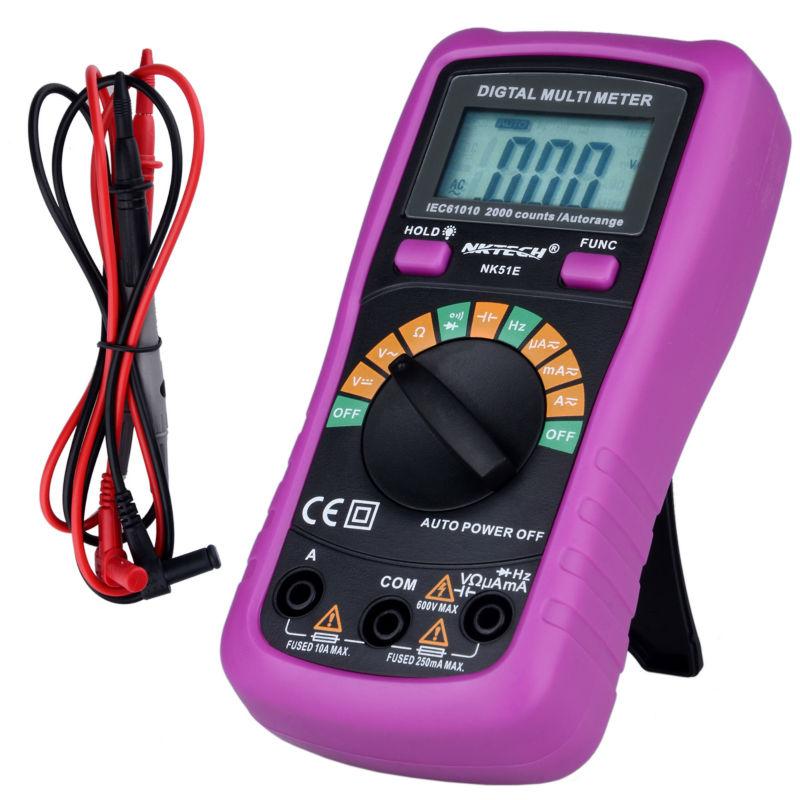 NOVÝ Multimetr NK51E VS MS8233D s kapacitním a frekvenčním - Měřicí přístroje - Fotografie 3