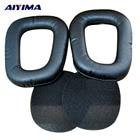AIYIMA 2Pcs Earphone Airpods Earpads Headset Earmuffs Leather For Logitech G35 G930 G430 F450 Headphones Cover Sponge Case