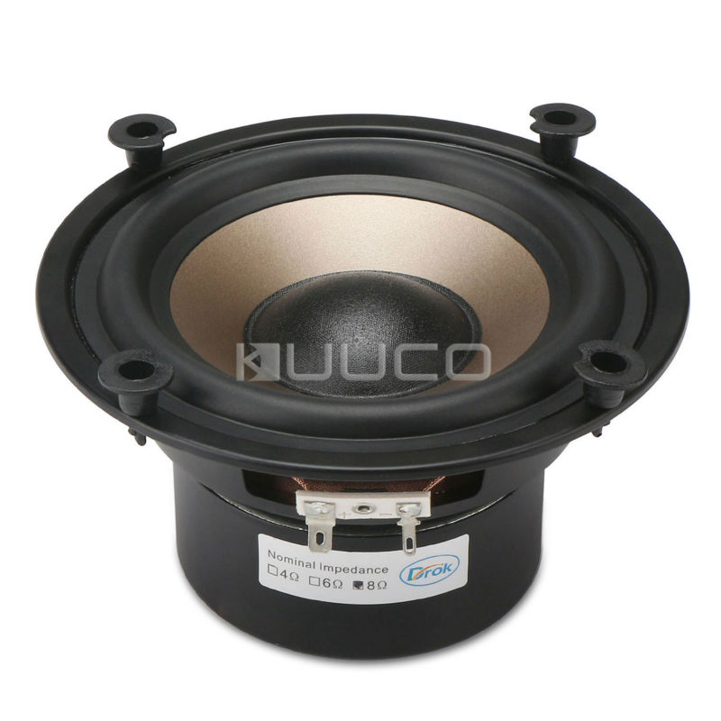 5.25-inch 8 ohms Shocking Audio Bass Loudspeaker/Subwoofer Speaker 40W Double magnetic Speaker for DIY speakers audio loudspeaker 40w woofer speaker double magnetic speaker 4 5 inch 4 ohms subwoofer bass speaker for diy speakers