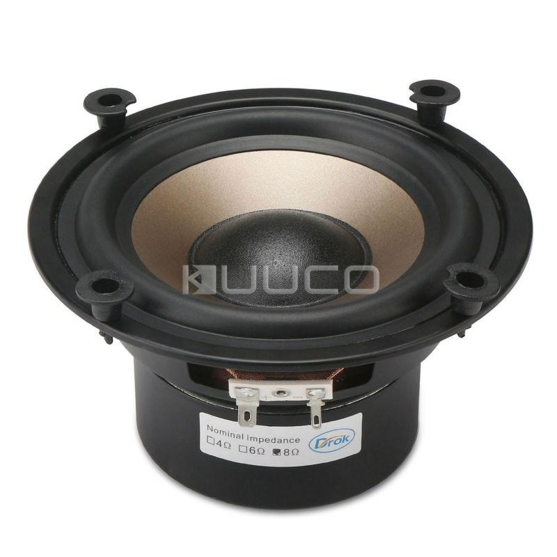 5.25-inch 8 ohms Shocking Audio Bass Loudspeaker/Subwoofer Speaker 40W Double magnetic Speaker for DIY speakers 8 inch 10 inch 12 fever car subwoofer amplifier board home audio refitting 150 w power bass