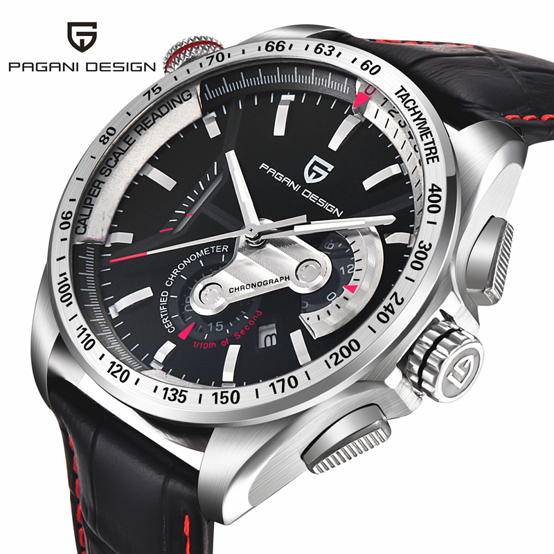 Relogio Masculino Men Luxury Brand Sport Watch Dive 30m Military Watches Multifunction Quartz Wristwatch Pagani Design