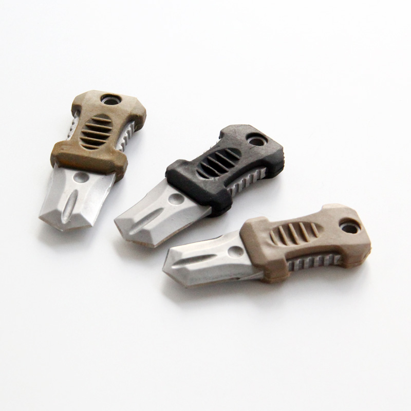 Compacto Mini herramienta, hebilla para el sistema MOLLE mochila Multifuncional