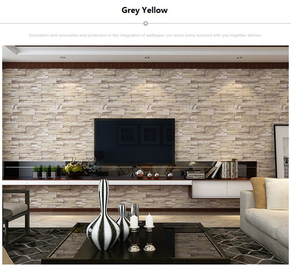 Vintage Brick Stone Peel and Stick Wallpaper for Living Room Restaurant Wall Decal PVC Vinyl Waterproof Home Decor Contact Paper HTB1eZw QXzqK1RjSZFoq6zfcXXad