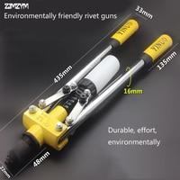 High Quality Environmentally Friendly Blind Rivet Guns Manual Riveter Double Handles Nail Gun Hand Riveter Screw