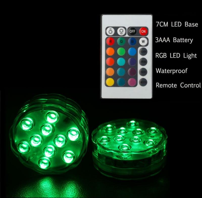 2017 ny produkt 1st LED-nedsänkbar ljus blommig te ljus ljus - Festlig belysning - Foto 2