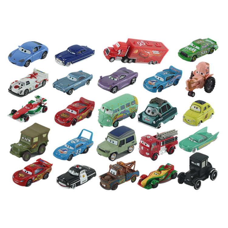 Disney about 8cm Toys Action Finger Cars2 Racing Cars Alloy Model Car McQueen Models for Children Chrismas Gift big rc cars 2 4g rock crawler 4wd trucks toys 1 12 off road vehicle buggy electronic model car toys for children christmas gift