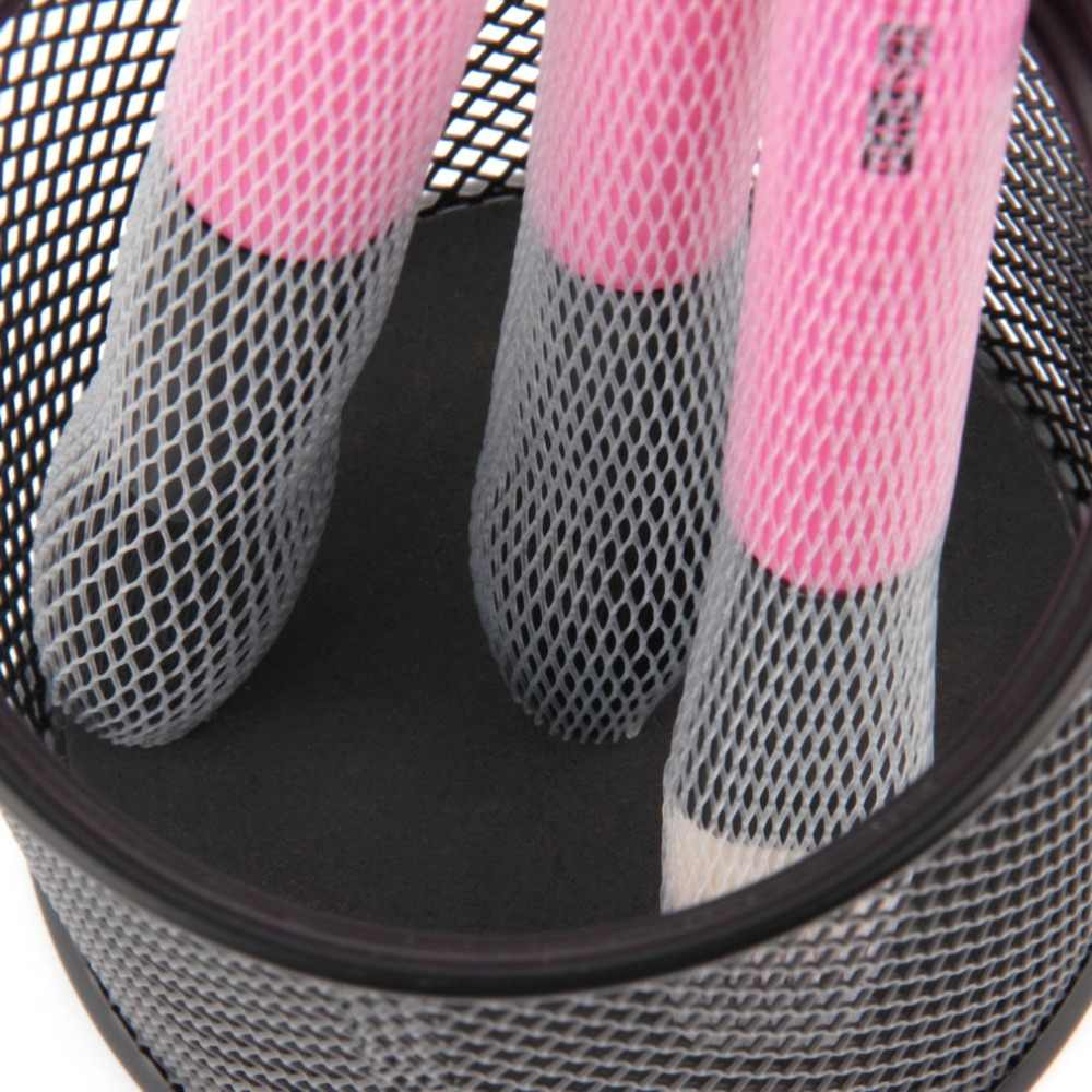 10 stks set Nuttig Make Cosmetische Make Up Brush Pen Wit Netting Cover Mesh Schede Protectors Guards Schede Netto Make-Up borstel Hot