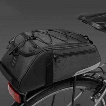 Ciclismo Borsa A Tracolla Della Borsa Carrier Carrello Sedile Posteriore Scaffale Sacchetto Della Bici 8L Bike Grande Capacità, Logo Riflettente