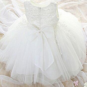 79d9baa1f Recién Nacido bebé niña vestido vestidos de fiesta para las chicas de 1 año cumpleaños  princesa vestido de encaje vestido de bautizo ropa de bebé Bautismo