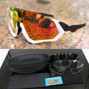 Polarized Cycling Sunglasses Mountain Bike Goggles Sport Eyewear Mtb