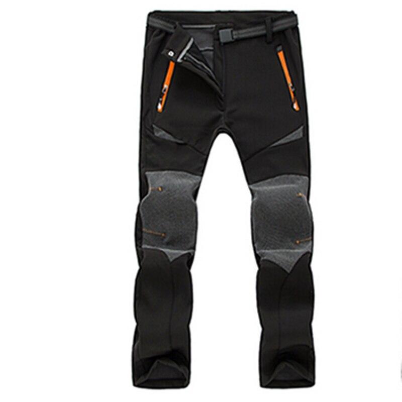 ФОТО Hot Spring/Winter Female Thicken Warm Hiking/Camping/Climbing/Ski Pants Outdoor Sport Pantalones Windproof Waterproof Trousers