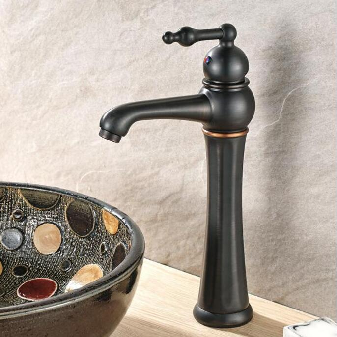 New arrival Europe style high quality sink faucet brass black ORB basin mixer single lever basin faucet bathroom water tap розовый elara м 50х90 70х130 в коробке набор полотенец фиеста