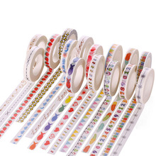 1 Roll 10M Hand Painted Washi Tape Scrapbooking Craft DIY Paper Sticky StickerDropshipping Dropshipping