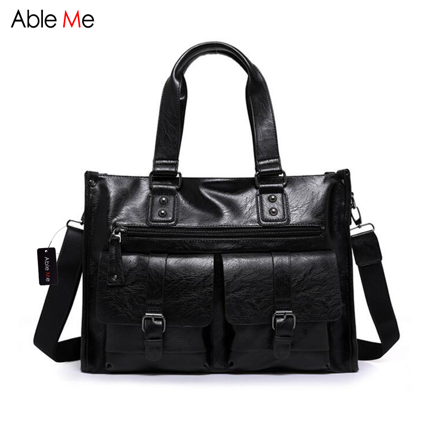 AbleMe Fashion Men Tote Bag New 2017 Men's Travel Duffle Bags Shoulder Multi-Function Big Capacity Handbag for Male Travel Bag fashion neoprene travel picnic food insulated lunch bag tote cooler bag handbag for women kids thermal bag lunchbox bag tote