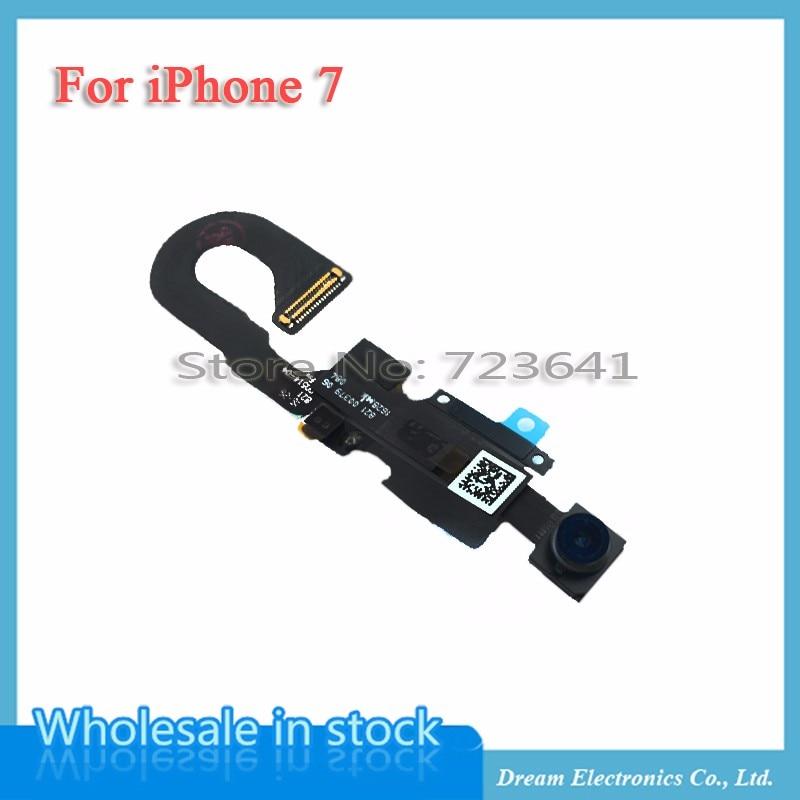 imágenes para MXHOBIC 10 unids/lote Frente Pequeña Cámara Módulo Flex Cable Para el iphone 7 7G 4.7 pulgadas Pequeña Cámara de piezas de Repuesto envío Gratis