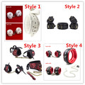 4 Styles For Choose BDSM Bondage Retraint Kits Soft Padded Hands Cuffs Ankle Cuffs Neck Collar Slave Cosplay Sex Toys For Couple