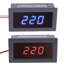 AC220V 60V-300V / 60V-500V 0.56 Inch Digital Red / Blue LED Voltage Meter Voltmeter Panel