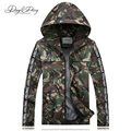 Men Military Jackets Thin Hooded Casual Breathable Waterproof Fashion Camouflage Printed Men Coat 3 Colors Windbreaker DCT-030