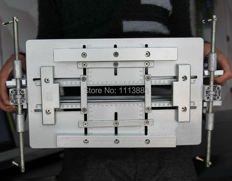 Adjustable Door Hinge Aluminium Template Jig Slotting Template For
