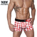 Pink Hero Cotton Sexy Man Underwear Boxer Plus Size Male Boxer Underpants Fashion Design Men's Breathable Panties Shorts Boxer