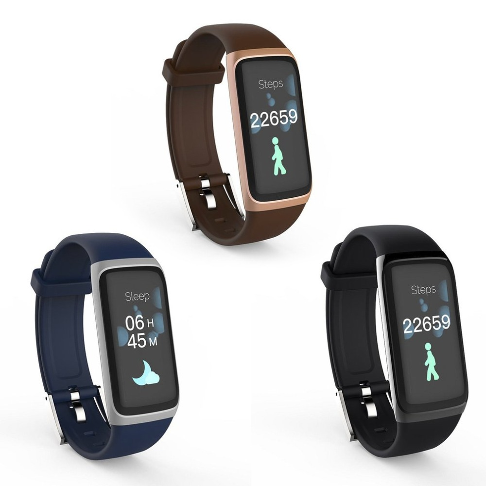 New BY22S Smart Sports Device Touch Screen Pedometer Continuous Heart Rate Monitor Waterproof Fitness Tracker Smart Step Counter
