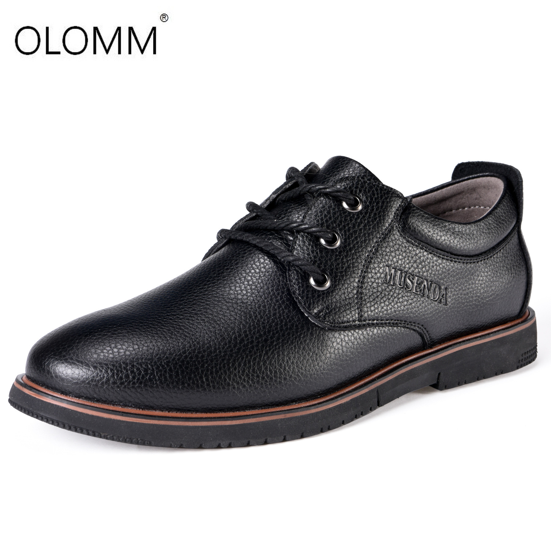 New Big Size 38-47 Brand Genuine Leather Men Shoes Spring Oxford Shoes Fashion Casual Designer Male Shoes Leather Moccasins