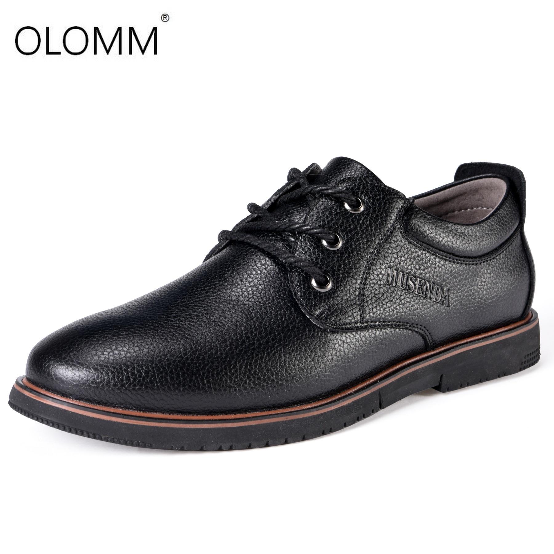 Nouvelle Grande Taille 38-47 Marque En Cuir Véritable Hommes Chaussures Printemps Oxford Chaussures Mode décontracté Concepteur Hommes Chaussures En Cuir Mocassins