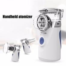 Portable Ultrasonic Nebulizer Mini Handheld Inhaler Respirator Humidifier Kit Health Care Children Home Inhaler Machine Atomizer цена и фото