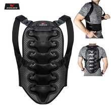 WOSAWE Motorcycle Armor Vest Protection Colete Riding Cross Chest Back Protector Armor Motocross Racing Vest Protective Gear